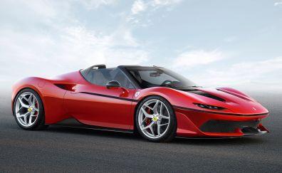 Ferrari J50 Red Sports car 2017