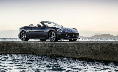 Maserati GranTurismo, side view, luxury car