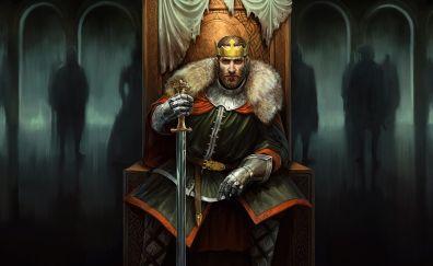 Total War Battles: KINGDOM, mobile, android game, king, 4k