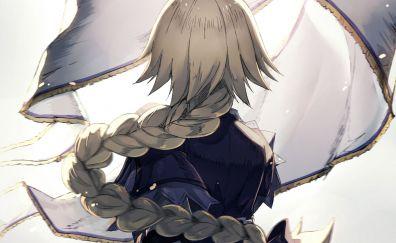 Blonde, long hair, anime girl, Ruler