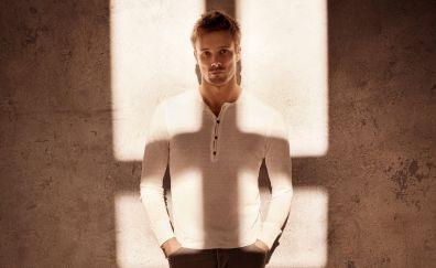 Handsome, British actor, Bradley James