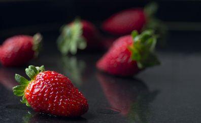 Fresh Red Strawberry, fruit