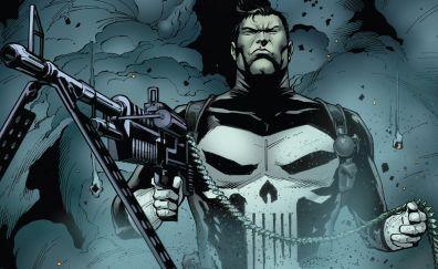 Punisher, gun, comics