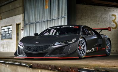 2017 Honda, Acura NSX GT3, sports car