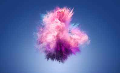 Color splash, explosion, Huawei 7s, stock