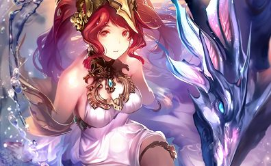 Sibyl, Shadowverse, video game, red head
