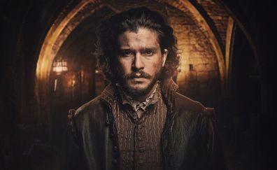 Kit harington, tv series, actor, gunpowder, 4k