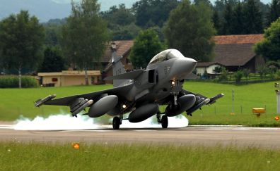 Saab Jas 39 Gripen fighter plane