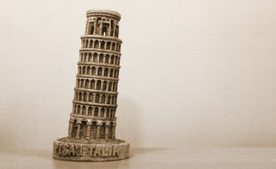 Pisa tower, miniature, toy