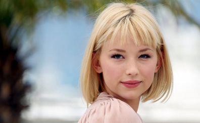 Haley Bennett, face, celebrity