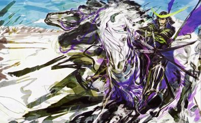 Sengoku, basara, anime artwork