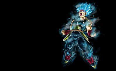 Super anime boy, bardock, dragon ball super, super saiyan