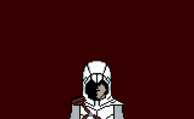 Assassin's creed video game, pixel art