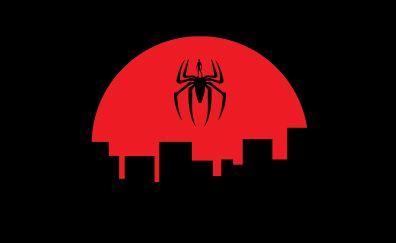 Spider man, spider, abstract