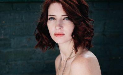 An American model, Susan Coffey