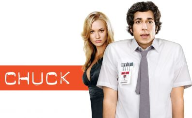 Chuck TV show, Zachary Levi, Yvonne Strahovski