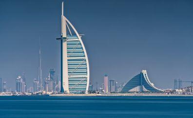 Hotel Burj Al Arab, dubai city