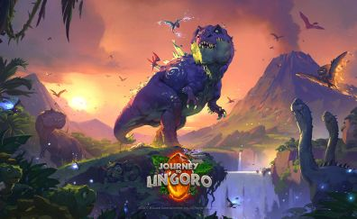Hearthstone: heroes of warcraft, dinosaur