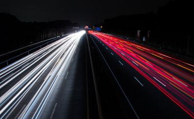Traffic lights of highway