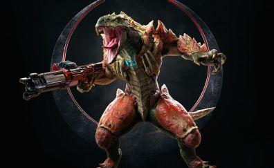 Quake champions, sorlag, video game, 4k