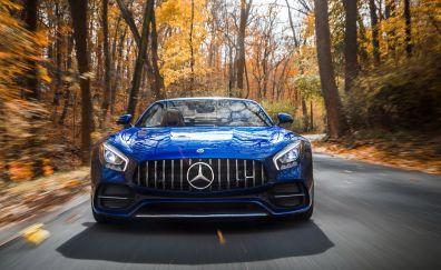 Mercedes-AMG GT C Roadster, sports car, 2018, 4k