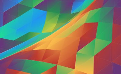 Abstract, colorful, pattern, traingles
