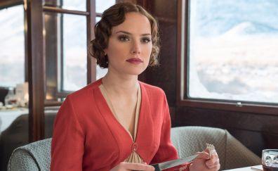 Daisy Ridley, Murder on the orient express, 2017 movie