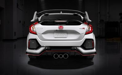 Honda Civic Type R, rear view