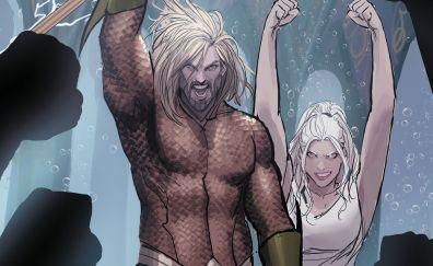Aquaman, superhero, underwater