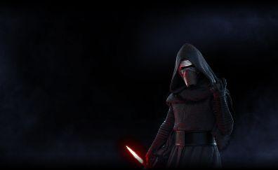 Star wars battlefront ii, video game, dark, kylo ren, 5k