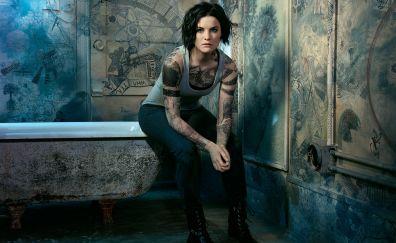 Blindspot tv show, tatto, tv series, Jaimie Alexander