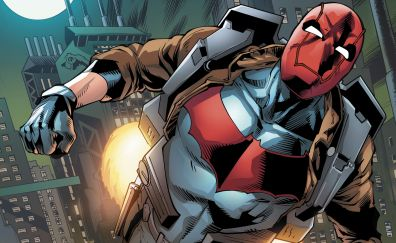 Red hood, flight, batman, dc comics