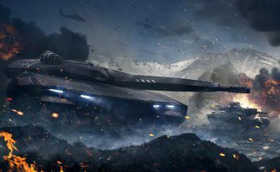 Armored Warfare, Video game, modern tank, military, war