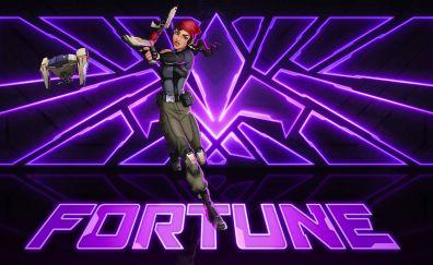 Agents of mayhem, girl fighter, fortune