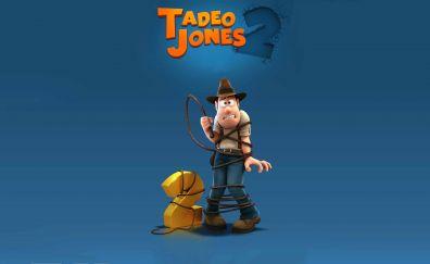 Tad Jones: The Hero Returns, animated movie, minimal