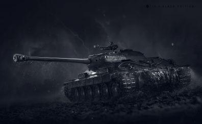 World of tanks, military, dark, night, tank