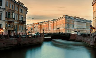 Russian city, Saint Petersburg