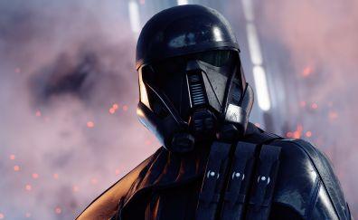 Death trooper, video game, star wars battlefront ii, soldier, 4k