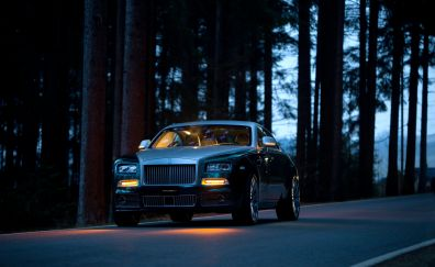 Rolls-Royce Wraith, luxury car