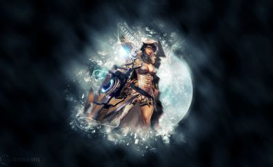 Catherine, warrior, video game, vainglory