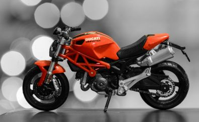 Ducati Monster, motorcycle, toy