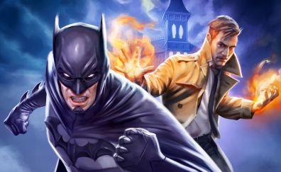 Justice League Dark animated movie, batman, Constantine
