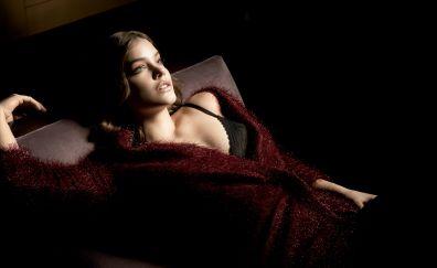 Barbara Palvin, supermodel, Elle Magazine, 5k
