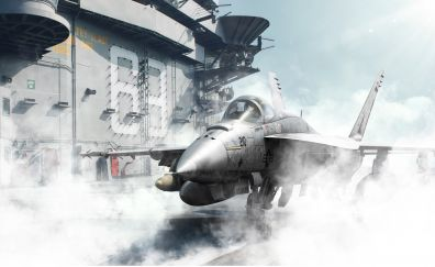 Boeing F/A-18E/F Super Hornet, military, fighter aircraft