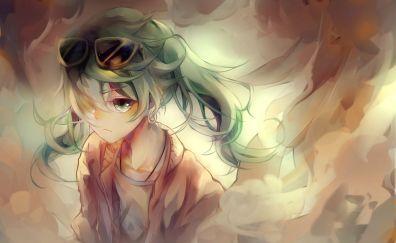Anime art, Hatsune Miku, sunglasses