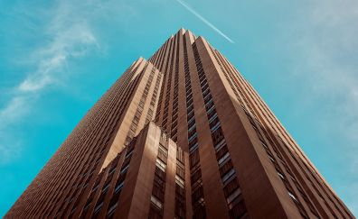 Rockefeller Center, buildings, skyscrapers, New York
