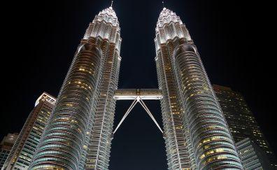 Kuala Lumpur, Malaysia, skyscraper, buildings