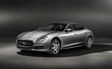 2018 Maserati Ghibli GranLusso, luxury car, side view, 4k