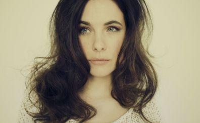 Celebrity, face, Caroline Dhavernas, 4k