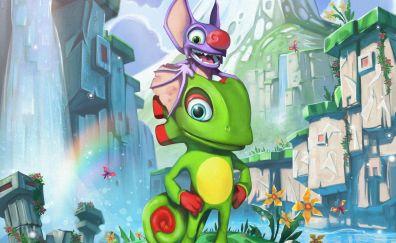 Lizard, yooka-laylee, video game